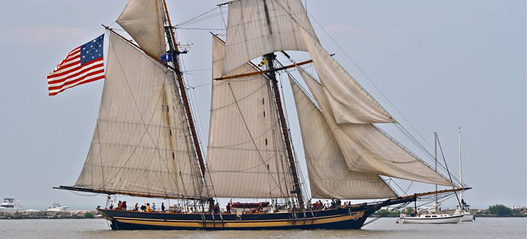 GCBSR - шхуна Pride of Baltimore II