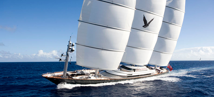 Мега-яхта Maltese Falcon Perini Navi