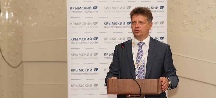 Министр транспорта Российской Федерации Максим Соколов