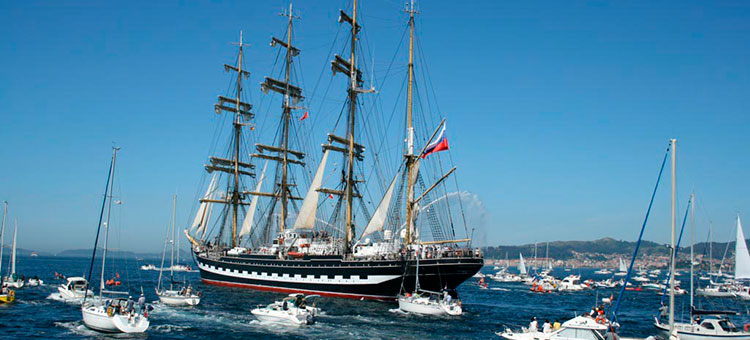 SCF Black Sea Tall Ships Regatta 2014 - Барк Крузенштерн
