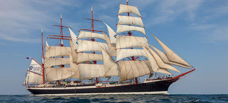 SCF Black Sea Tall Ships Regatta 2014 - Барк Седов