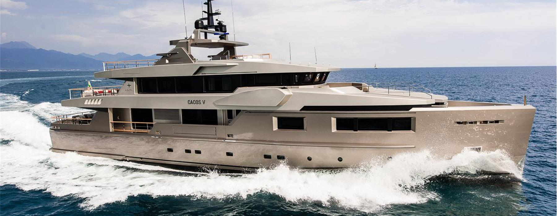 Luca Dini Design and Admiral – The Italian Sea Group for 40m Admiral Cacos V