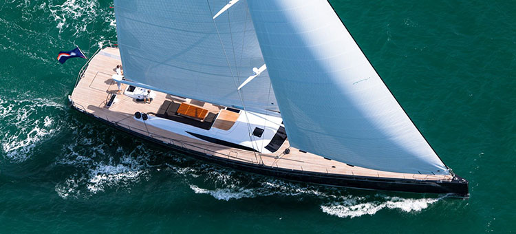 Adam Lay Studio for 32.64m Baltic Yachts Inukshuk