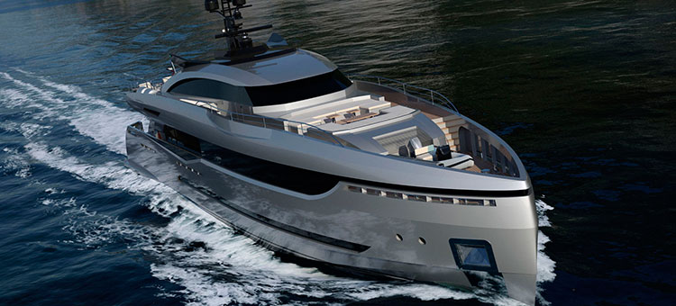 Hot Lab Yacht & Design for Columbus Sport Hybrid 40M