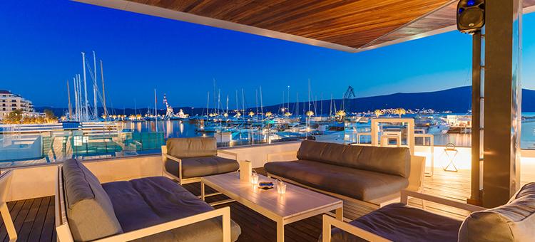 Клуб Lido Mar в Porto Montenegro