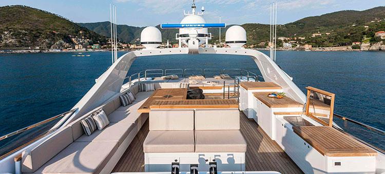 Mangusta 165 by OverMarine, Супер-яхта Mangusta 165 OverMarine