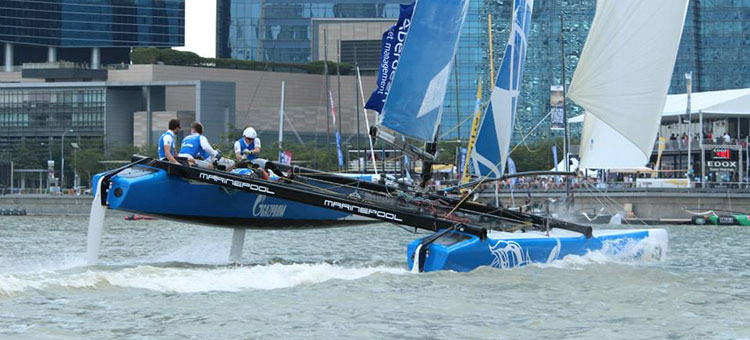Extreme Sailing Series - Gazprom Team Russia