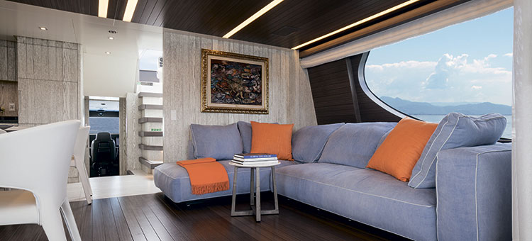 Интерьер Benetti Tradition Supreme 108 - My Paradis