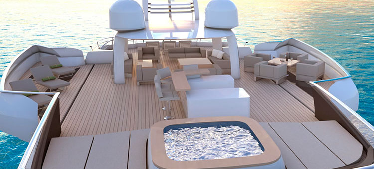 Danish Yachts, QuadraDeck 40m, Sky Terrace, Cor D. Rover, Patrick Knowles