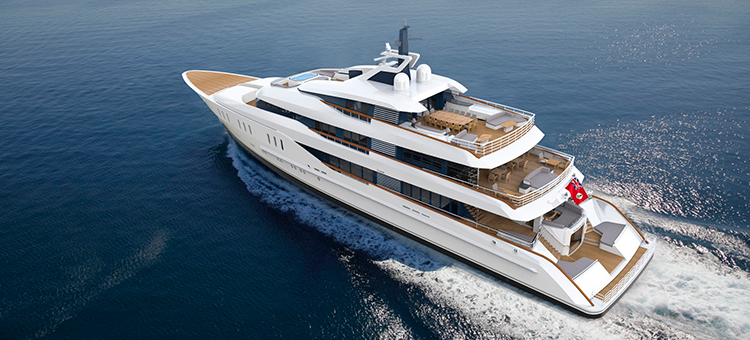Feadship 67-meter Superyacht Hull 809