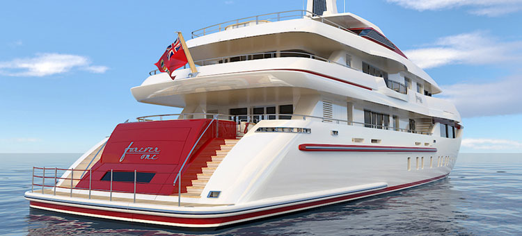 ISA Yachts Custom 54m Forever One