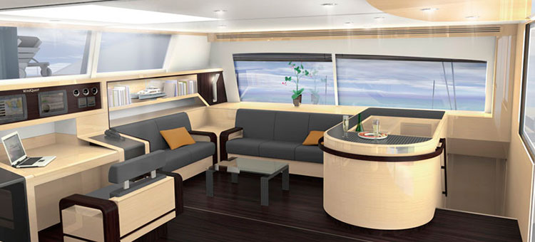 JFA Yachts Long Island 85 Interior