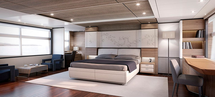 ruYachts Princess Yachts Princess 35M Interior