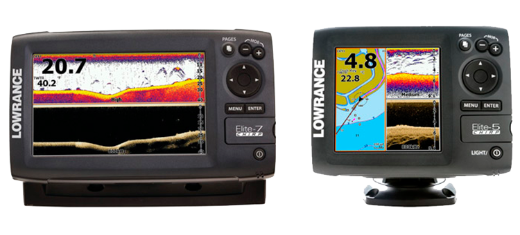 Lowrance Elite-5 CHIPR and  Elite-7 CHIPR