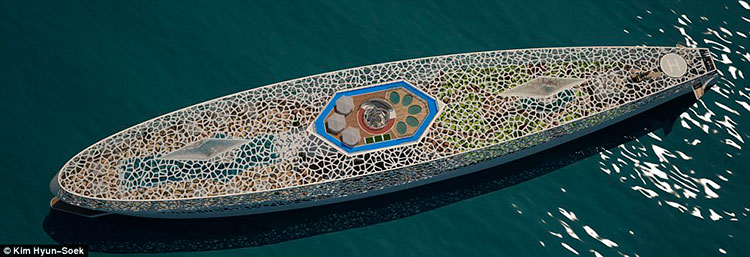Мега-яхта Voronoi от Hyun-Seok Kim