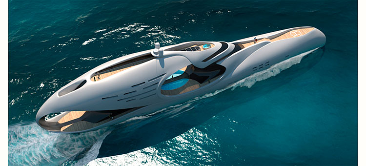 Megayacht concept Infinitas by Schöpfer Yachts