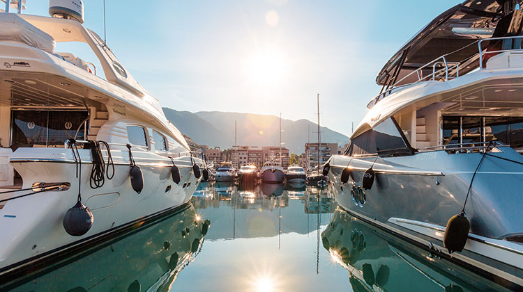 MYBA Pop-Up Superyacht Show Porto Montenegro