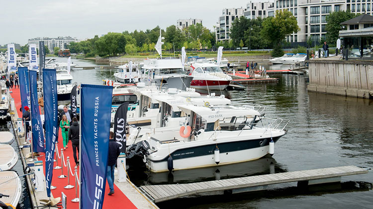 Saint Petersburg International Boat Show (SPIBS) 2015
