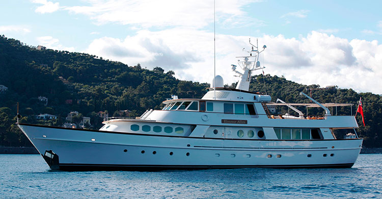 Супер-яхта C-SIDE от Feadship - участник Superyacht Rendezvous 2015