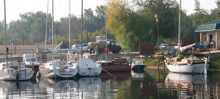 Река Волга, Саратовская область, Россия