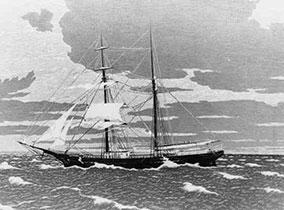 Ghost-ship Mary Celeste, корабль-призрак Мари Селеста