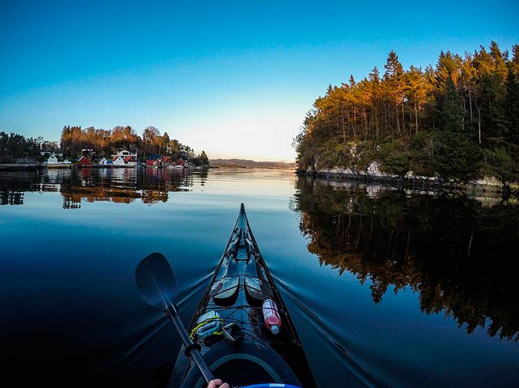Путешествие по норвежским фьордам на каяке, Томаш Фурманэк, Tomasz Furmanek