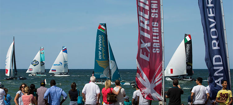Extreme Sailing Series, 2015, Muscat