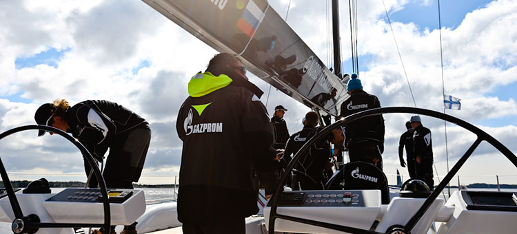Гонки флота Nord Stream Race, Хельсинки, 1 июня 2014, Gazprom Youth Sailing Challenge