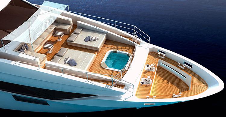 Супер-яхта Benetti Vivace 125 дебютирует на Cannes Yachting Festival 2015