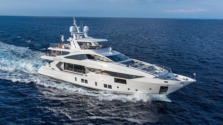 Супер-яхта Vivace 125 Ironman от Benetti Yachts