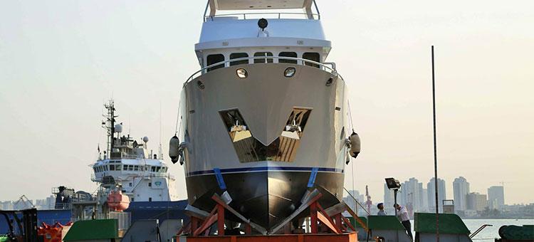 Bering Yachts построила вторую экспедиционную яхту модели