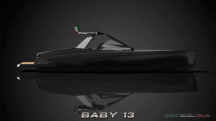 Cantiere Navale Italia - tender Baby