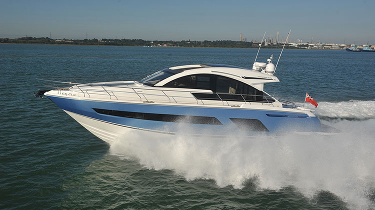 Моторная яхта Fairline Targa 53GT 2015-2016