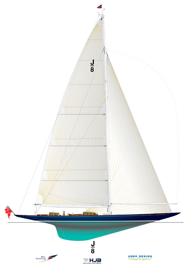 Супер-яхта J-сlass J8, Holland Jachtbouw