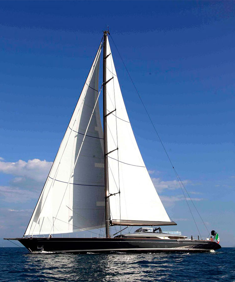 60-метровый шлюп Perseus 3, Perini Navi Group, 2015