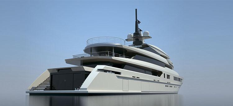 Cупер-яхта Tankoa S693, Tankoa Yachts и Francesco Paszkowski