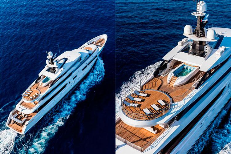 Супер-яхта Suerte от Tankoa Yachts
