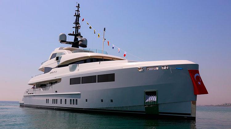 Bilgin Yachts спустили на воду яхту Giaola-Lu (Bilgin 155)
