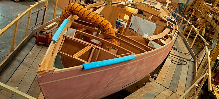 фото строительство яхт #11