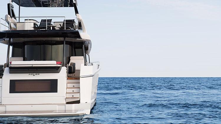 Гибридная моторная яхта Suprema от Adler Yacht