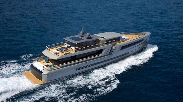 Couach представила супер-яхту 38m Lounge Explorer