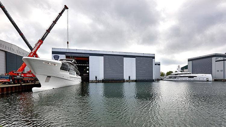 55-метровая яхта Heesen проекта Antares