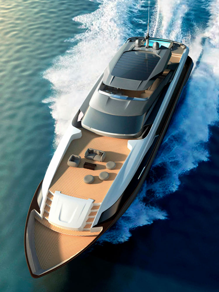 Моторная яхта Maiora 36