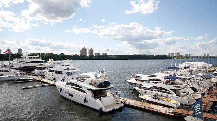 В Москве состоится новая яхтенная выставка Moscow Yacht Show 2017