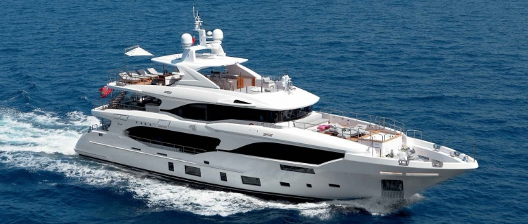 Benetti Mediterraneo 116 'Mr. Loui' underway and inside